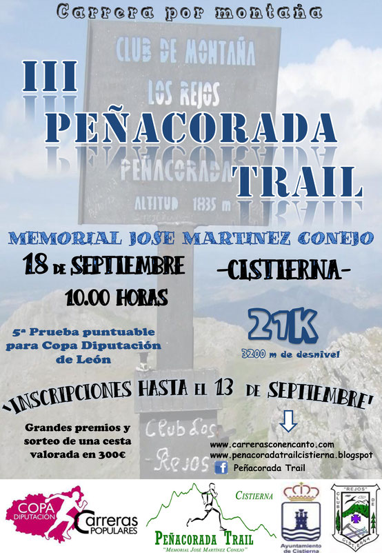 Peñacorada Trail 2016